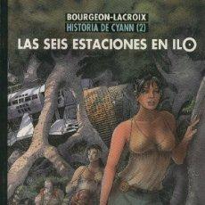 Comics : CIMOC EXTRA COLOR NUMERO 145: HISTORIA DE CYANN NUMERO 2: LAS SEIS ESTACIONES EN ILO. Lote 232443955