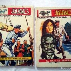 Cómics: LOTE COMICS EL JAVANES Nº1 Y Nº2 -LOS PITATAS DEL MAR DE CHINA-EL RAJA DE SARAWAK. Lote 239398080