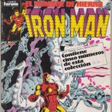 Cómics: CÓMIC MARVEL IRON MAN TOMO 6 ( NºS 26- 30) ED, PLANETA / FORUM (RETAPADO). Lote 239506600