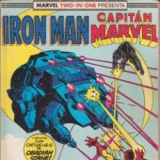 Cómics: CÓMIC MARVEL IRON MAN / CAPITÁN MARVEL ( NºS 44- 46) ED, PLANETA / FORUM (TOMO RETAPADO). Lote 239506970