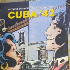 Cómics: CUBA '42 - OTTAVIO DE ANGELIS & ANNA BRANDOLI. Lote 239555320