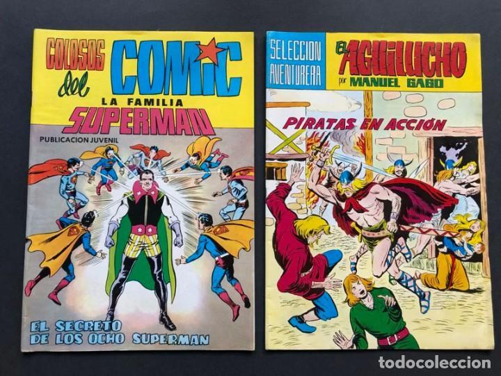 Cómics: LOTE 9 COMICS DIFERENTES / - Foto 3 - 239621640