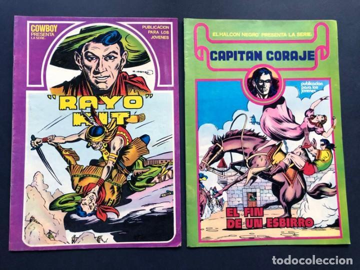 Cómics: LOTE 9 COMICS DIFERENTES / - Foto 4 - 239621640
