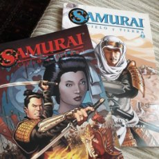 Cómics: SAMURAI, CIELO Y TIERRA (2VOL).. Lote 239645980