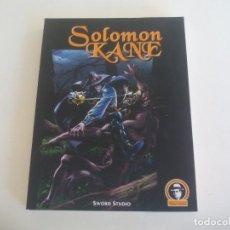 Comics: SALOMON KANE. SWORD STUDIO. VI JORNADAS DE COMIC DE VELEZ-MALAGA. 320 PÁGINAS.. Lote 239781305