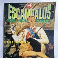 Fumetti: ESCANDALOS DE HOLLYWOOD Nº 7, RELATOS GRAFICOS PARA ADULTOS. Lote 239887355