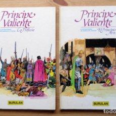 Cómics: PRINCIPE VALIENTE: LA PROFECÍA Y EL PRÍNCIPE ARN - HAROLD R. FOSTER - BURULAN, 1983. Nº1 Y 2. Lote 240061700