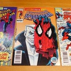 Comics : SPIDERMAN 312,313 Y 314 FORUM VOL.I EXCELENTES. CON FUNDAS PROTECTORAS.. Lote 240437700
