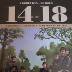 Cómics: 14-18, VOL. 1 (AGOSTO/SEPTIEMBRE DE 1914) I GM. Lote 240444360