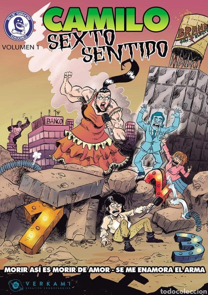 CAMILO SEXTO SENTIDO VOLUMEN 1 (Tebeos y Comics - Comics otras Editoriales Actuales)