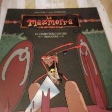 Cómics: LA MAZMORRA. CREPÚSCULO. EL CEMENTERIO DE LOS LADRONES. CIMOC EXTRA COLOR. OFERTA.. Lote 240695230