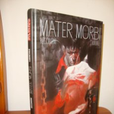 Cómics: DYLAN DOG. MATER MORBI - ROBERTO RECCHIONI, MASSIMO CARNEVALE - SPACEMAN BOOKS, COMO NUEVO. Lote 240796235