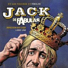Cómics: JACK DE FÁBULAS: EDICIÓN DE LUJO.OBRA COMPLETA: 3 TOMOS. TAPA DURA. ECC. BILL WILLINGHAM. 1230 PAGIN. Lote 288509813