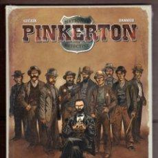 Cómics: PINKERTON - YERMO / EDICIÓN INTEGRAL / COMIC EUROPEO / TAPA DURA / NUEVO Y PRECINTADO. Lote 240998190