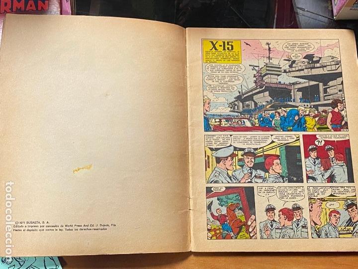 Cómics: EL X-15. LAS AVENTURAS DE BUCK DANNY. COLECCIÓN HISTORIETAS SERIE AZUL Nº 2. SUSAETA 1971 - Foto 3 - 241014555