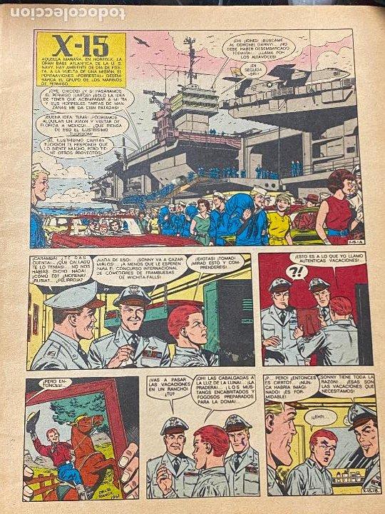 Cómics: EL X-15. LAS AVENTURAS DE BUCK DANNY. COLECCIÓN HISTORIETAS SERIE AZUL Nº 2. SUSAETA 1971 - Foto 5 - 241014555
