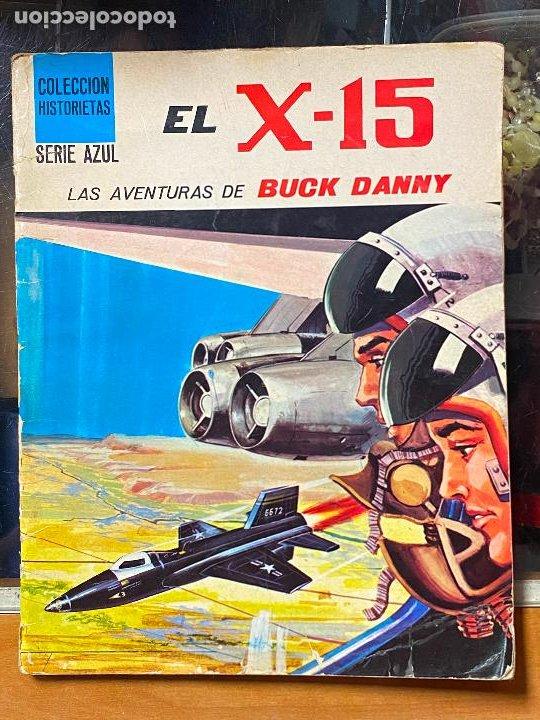 EL X-15. LAS AVENTURAS DE BUCK DANNY. COLECCIÓN HISTORIETAS SERIE AZUL Nº 2. SUSAETA 1971 (Tebeos y Comics - Comics otras Editoriales Actuales)