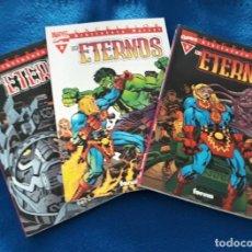 Comics: BIBLIOTECA MARVEL LOS ETERNOS ¡¡COMPLETA!! - JACK KIRBY - MBE. Lote 241085730
