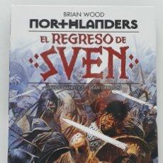 Cómics: NORTHLANDERS: EL REGRESO DE SVEN, BRIAN WOOD (ECC EDICIONES, SEGUNDA EDICIÓN, 2020). Lote 241088845