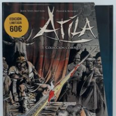 Cómics: ATILA, EDICIÓN LIMITADA, (1 Y 2 COMPLETO) JEAN - YVES MITTON Y FRANCK BONNET (YERMO EDICIONES). Lote 241104280