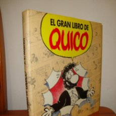 Cómics: EL GRAN LIBRO DE QUICO - J. L. MARTÍN - MUY BUEN ESTADO. Lote 241764875