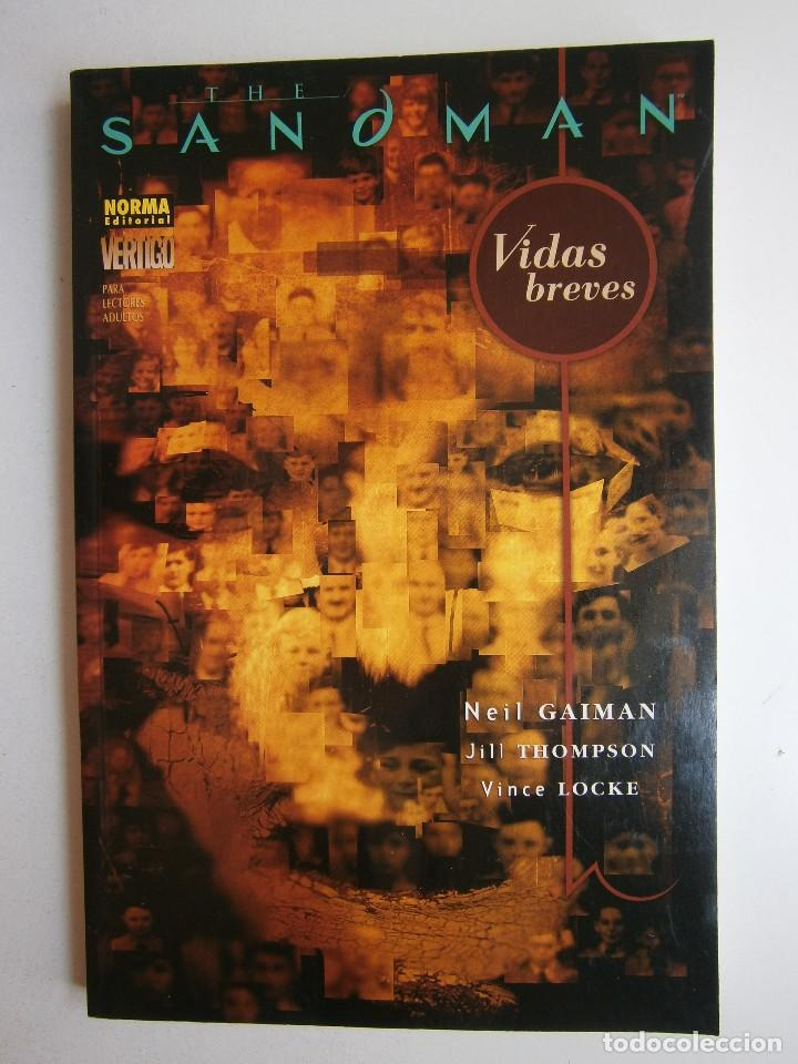 Cómics: THE SANDMAN VIDAS BREVES VERTIGO 281 NEIL GAIMAN JILL THOMPSON VINCE LOCKE NORMA 2005 - Foto 2 - 241825715