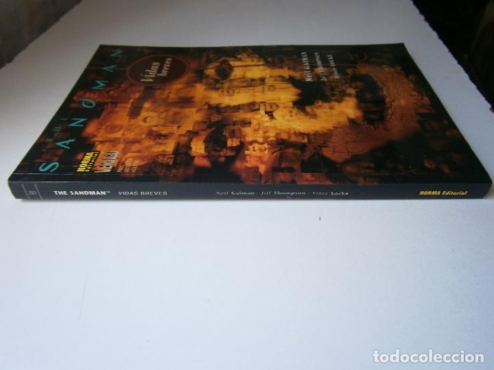 Cómics: THE SANDMAN VIDAS BREVES VERTIGO 281 NEIL GAIMAN JILL THOMPSON VINCE LOCKE NORMA 2005 - Foto 3 - 241825715