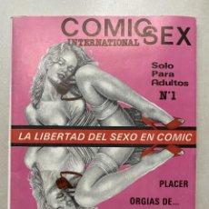 Cómics: COMIC SEX INTERNATIONAL Nº1 (350 PTS). Lote 241827895