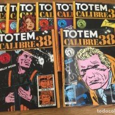 Comics: ¡¡LIQUIDACION!! - TOTEM CALIBRE 38 - COMPLETA DEL 1 AL 8 - GCH. Lote 241893715