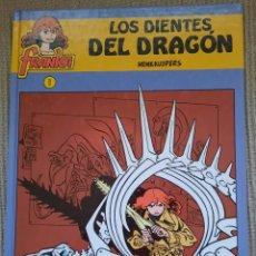 Cómics: COMIC LOS DIENTES DEL DRAGON - EDITORIAL BARCANOVA 1ª EDICION. Lote 61268047