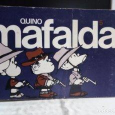Cómics: MAFALDA 5 - QUINO. Lote 242205990