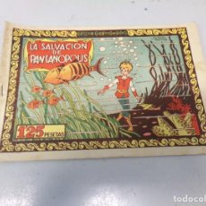 Comics : COLECCION CUENTOS DE HADAS LA SALVACIÓN DE PANTANOPOLIS LUPITA Y ROBIN. Lote 242384725