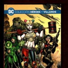 Cómics: ESCUADRÓN SUICIDA : LA CÁMARA NEGRA - ECC / DC / HEROES Y VILLANOS 3 / TAPA DURA /NUEVO Y PRECINTADO. Lote 254042455