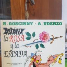 Cómics: ASTERIX - LA ROSA Y LA ESPADA EDICIONES JUNIOR 1991. Lote 242878565