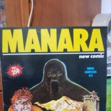 Cómics: MANARA N°4 ÉL ABOMINABLE HOMBRE DE LAS NIEVES EDITORIAL NEW COMIC 1992. Lote 242892385