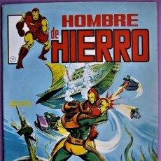 Cómics: EL HOMBRE DE HIERRRO IRON MAN Nº 7 SURCO MUNDI COMIC VERTICE 1980 NUEVO. Lote 242958300