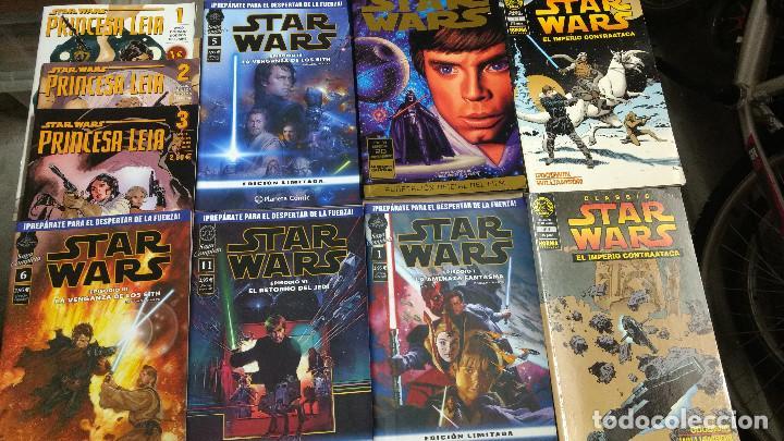 STAR WARS, LOTE DE 10 COMICS BUEN ESTADO COMO NUEVOS (Tebeos y Comics - Comics Pequeños Lotes de Conjunto)