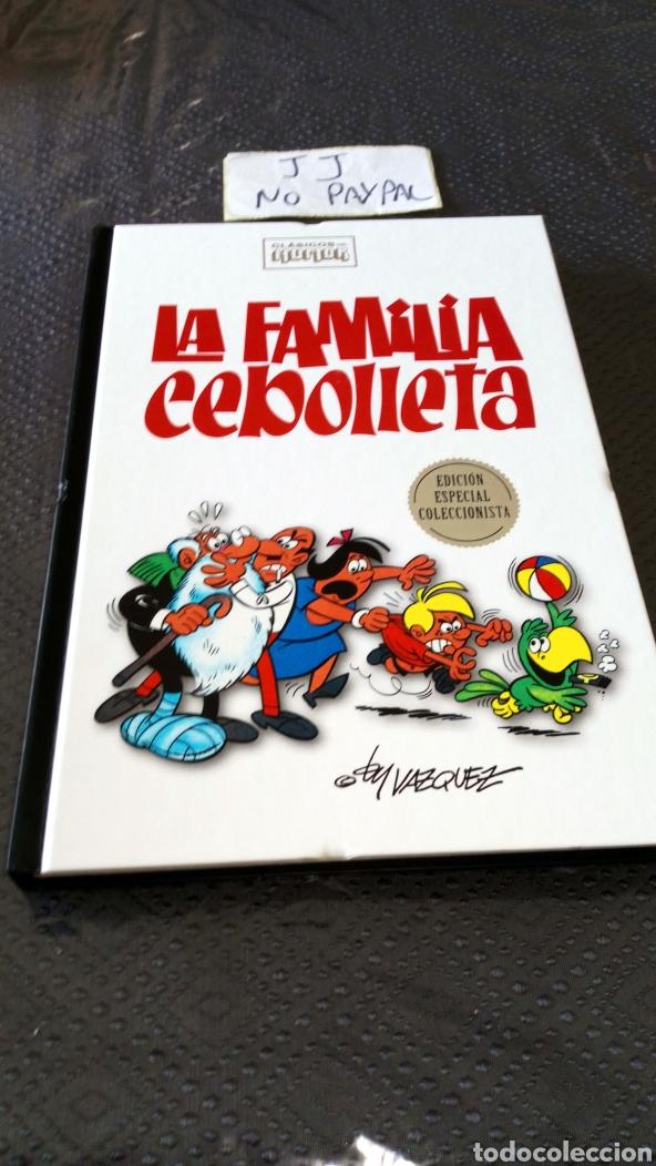 CLASICOS DE HUMOR EDICIÓN ESPECIAL COLECCIONISTA LA FAMILIA CEBOLLETA TAPA DURA VER FOTOS ESTADO (Tebeos y Comics - Comics otras Editoriales Actuales)