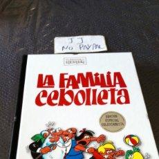Cómics: CLASICOS DE HUMOR EDICIÓN ESPECIAL COLECCIONISTA LA FAMILIA CEBOLLETA TAPA DURA VER FOTOS ESTADO. Lote 242984460
