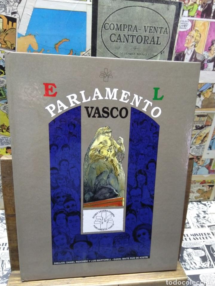 EL PARLAMENTO VASCO. COMIC. CASTELLANO (Tebeos y Comics Pendientes de Clasificar)
