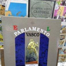 Cómics: EL PARLAMENTO VASCO. COMIC. CASTELLANO. Lote 243145625