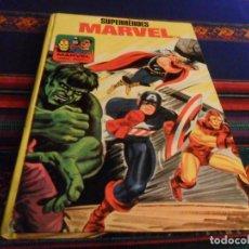 Cómics: SUPERHÉROES MARVEL. COLECCIÓN TELEXITO EDICIONES LAIDA. AÑOS 70. TAPAS DURAS. BUEN ESTADO.. Lote 243168690