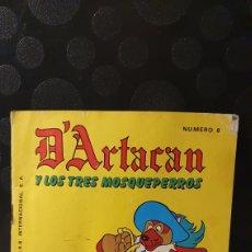 Cómics: D'ARTACAN Y LOS TRES MOSQUEPERROS/ N°6 / MONTENA 1981/ (REF.2.A). Lote 243434825