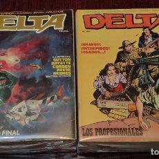 Cómics: DELTA (COLECCION COMPLETA) - CORBEN, NEBRES, MAROTO, AURALEON... (EDICIONES DELTA 1980). Lote 243451305