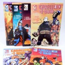 Cómics: CABALLERO ROJO 0 A 6. A FALTA DEL 1 (TORRES / NAVARRO) COMIQUEANDO PRESS, 1997. OFRT. Lote 243529715
