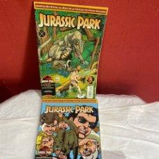 Cómics: JURASSIC PARK - ADAPTACION AL COMIC DE LA PELICULA , 4 NUMEROS , COMPLETA , EDICIONES B. Lote 243564625