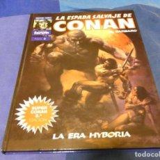 Cómics: LIBRERIA ARKANSAS TEBEO ACTUAL TAPA DURA COLOR LILA SUPER CONAN 6 2A ED. Lote 243604865