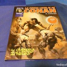 Cómics: LIBRERIA ARKANSAS TEBEO ACTUAL TAPA DURA COLOR LILA SUPER CONAN 8 2A ED. Lote 243605375