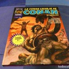Cómics: LIBRERIA ARKANSAS TEBEO ACTUAL TAPA DURA COLOR LILA SUPER CONAN 13 2A ED. Lote 243605745