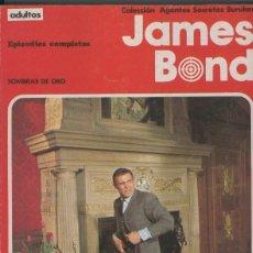 Cómics: JAMES BOND: RETAPADO: SOMBRAS DE ORO. Lote 243769985